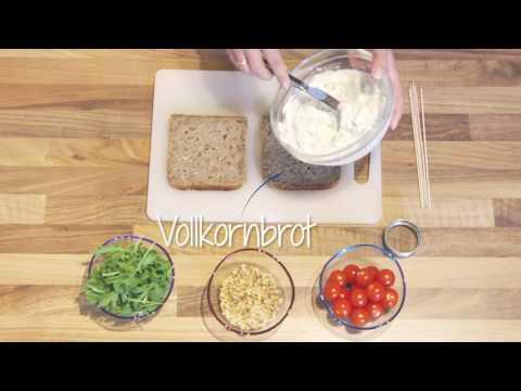 LaVita | Brotspieß mit Kräuterquark und Kirschtomaten (Rezept)