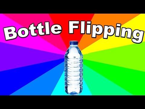 What is bottle flipping? The history of the water bottle flip challenge meme #flipforacure