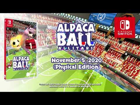 Alpaca Ball: Allstars - Announcement Trailer (Nintendo Switch)