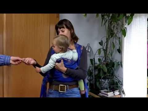 Wie Du Dein Baby richtig im Tragetuch trägst