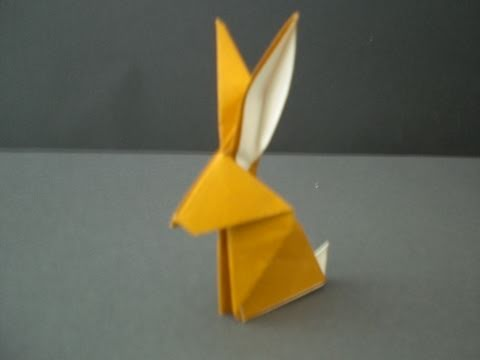 Origamianleitung: Hase
