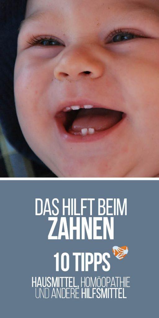 Das hilft beim Zahnen: Hilfe für zahnende Babys - 10 Tipps: Hausmittel, Homöopathie und andere Hilfsmittel