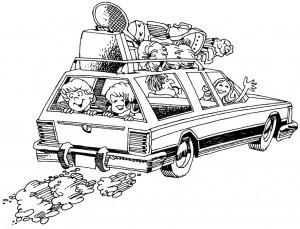 Stressbewältigung im Auto: Spiele für langeAutofahrten