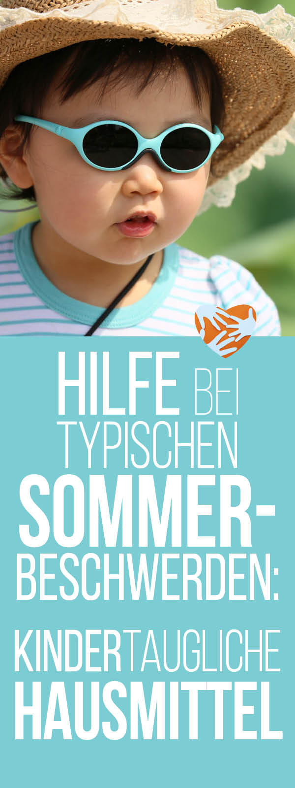 Hilfe bei typischen Sommerbeschwerden: Kindertaugliche Hausmittel: Insektenstiche, Kreislaufprobleme, Sonnenbrand, Sonnenallergie, Venen | Homöopathie