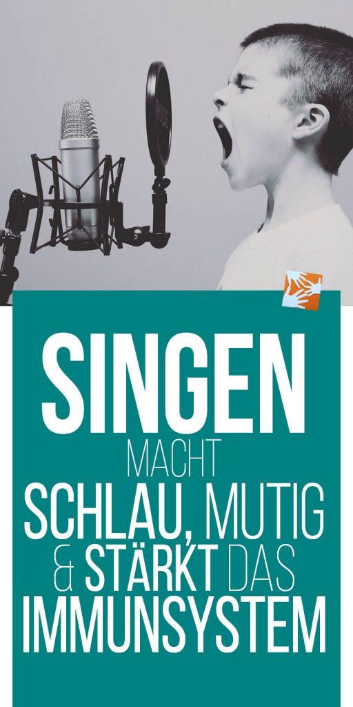 Singen macht schlau, mutig und stärkt das Immunsystem, Kinder fördern