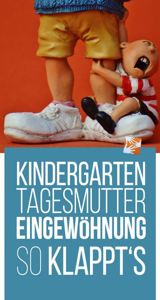 Eingewöhnung im Kindergarten oder bei der Tagesmutter: So klappt's