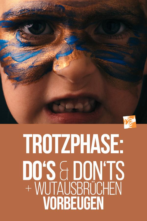 Trotzphase: Do's and Don'ts für Eltern + Wutausbrüchen vorbeugen