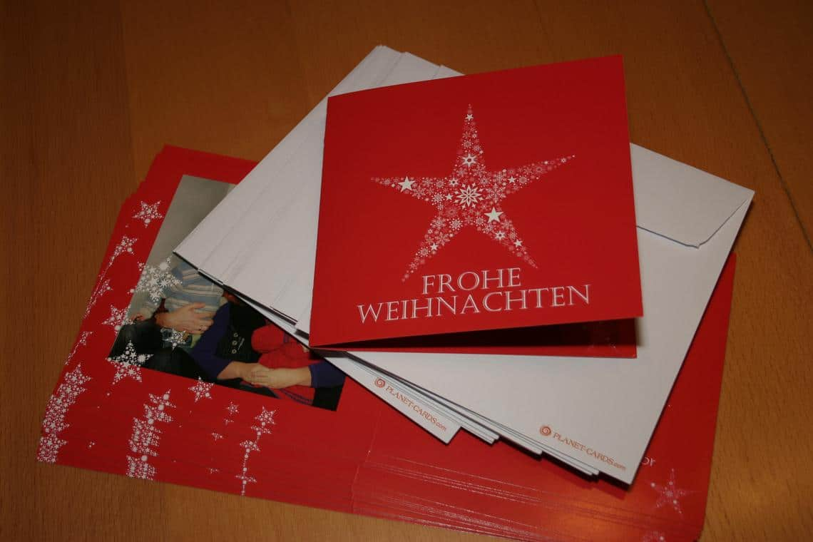 Weihnachtskarten geburtsanzeigen und mehr muttis for Weihnachtskarten personalisiert