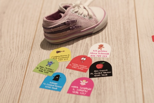 Stickers Chaussures small