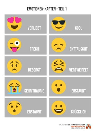 Emotionenkarten zum Download
