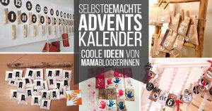 Adventkalender selber basteln: Jede Menge Ideen für selbstgemachte Adventskalender #fragmama