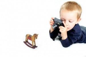 Idee für's Kinder-Auslüften: Foto-Safari
