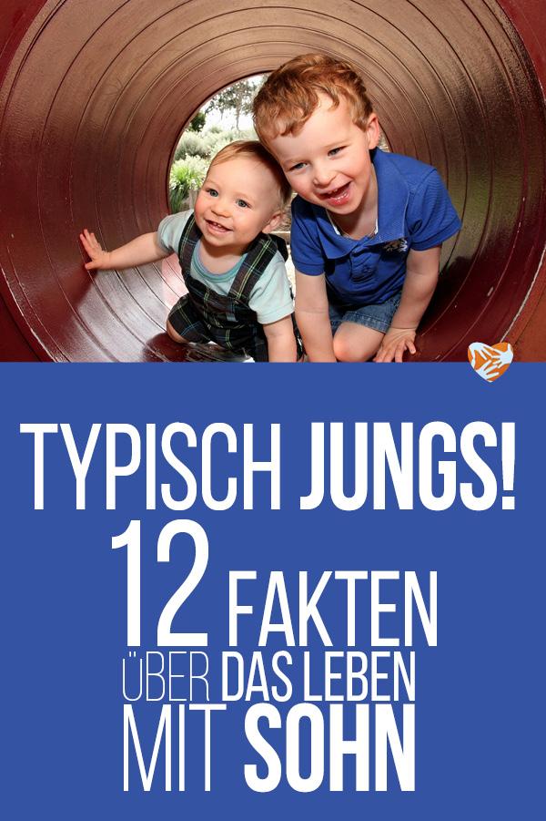 Typisch Jungs! 12 Fakten über das Leben mit Sohn
