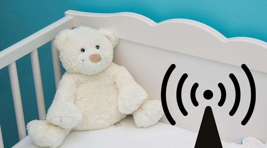 Handymast im Kinderzimmer: Jedes zweite Babyphon strahlt zu stark
