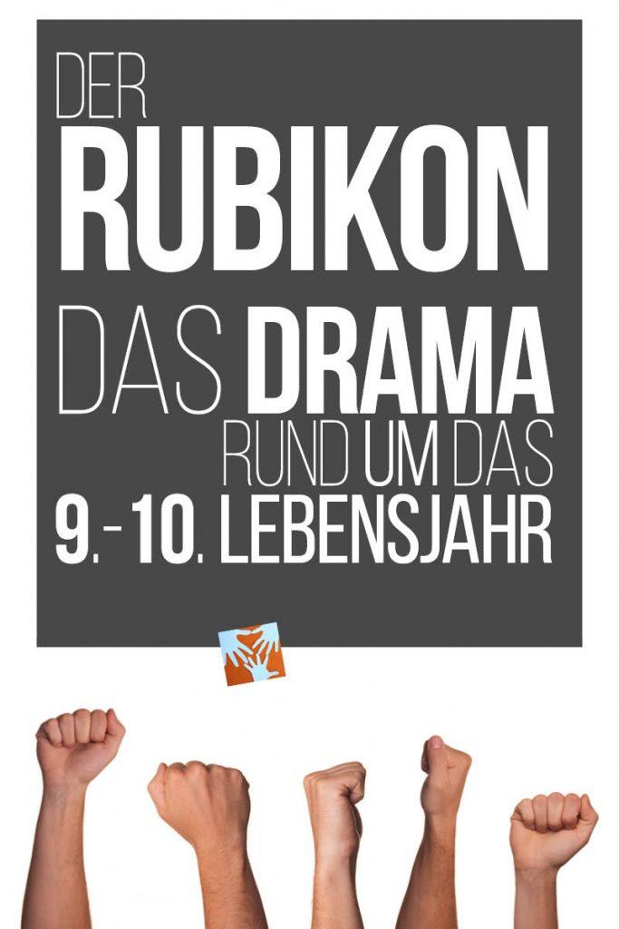 Der Rubikon: Das Drama rund um das 9.-10. Lebensjahr | Eisenleiter | Steiner, Waldorfpädagogik | Was hilft?