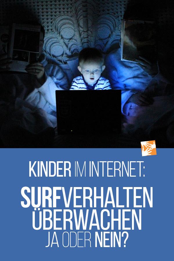 Kinder im Internet: Surfverhalten überwachen - ja oder nein?