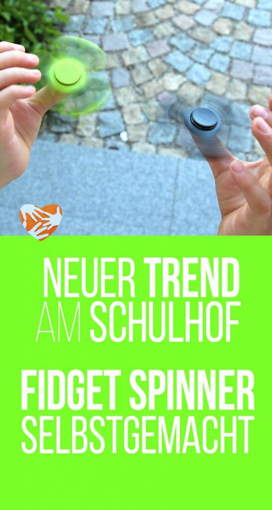 Fidget-Spinner selbstgemacht, DIY, Trend am Schulhof