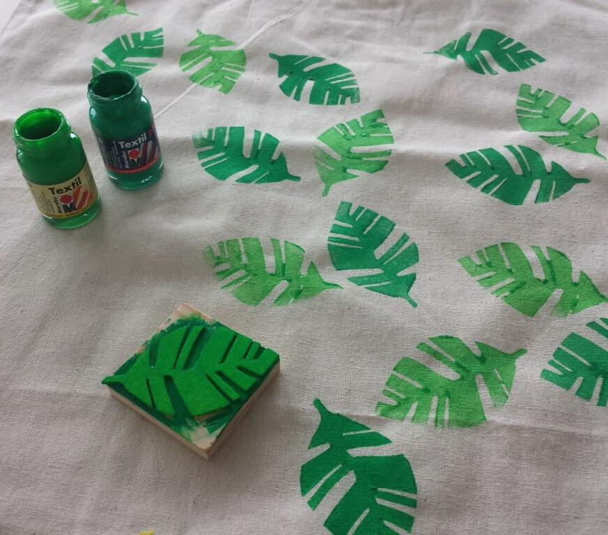 Superb Moosgummi Stempel: Blätter