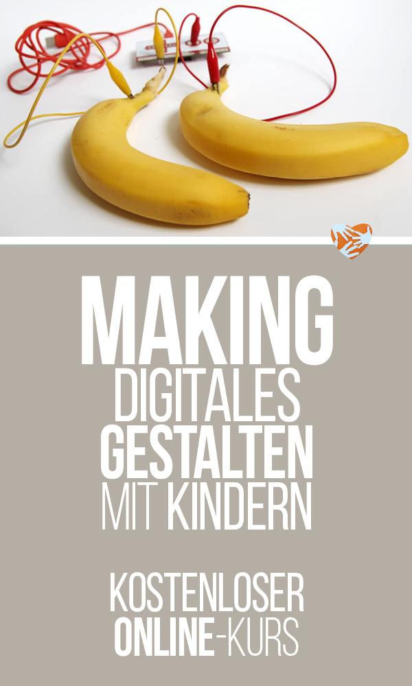 Making mit Kindern: Digitales kreatives Gestalten mit Kindern - kostenloser Online-Kurs