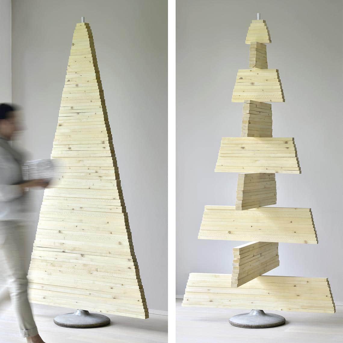 Weihnachtsbaum holzlatten