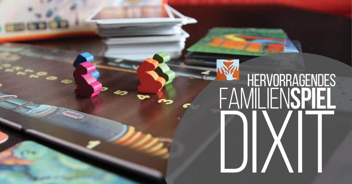 Empfehlenswertes Spiel für Kinder im Grundschulalter: Dixit