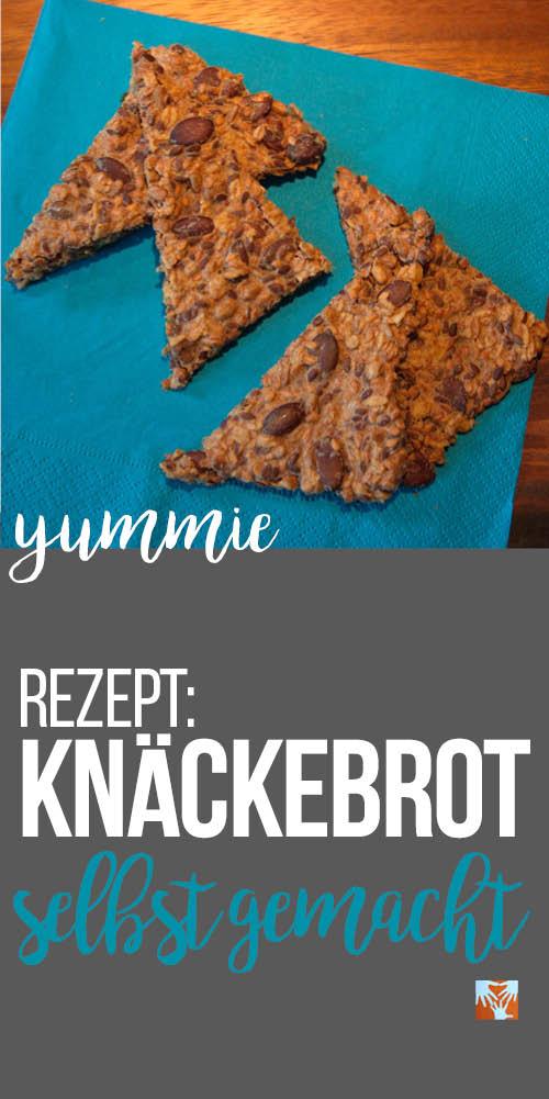 Yummie! Knäckebrot selbstgemacht | Rezept | Gesundes für das Frühstück | Gesundes für Kinder