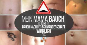 Mein Mama-Bauch: Bauch nach der Geburt, Bauch nach der Schwangerschaft