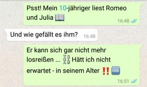 Buchempfehlung für Groß und Klein: YOLO, Julia – Romeo und Julia 2.0