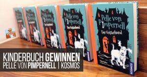 Kinderbuch gewinnen: Pelle von Pimpernell | KOSMOS Verlag