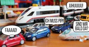 Urlaub mit Familie: Nerven sparen, Zug fahren