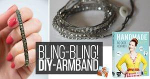 Bling-Bling! Einfaches DIY-Armband mit Wow!-Effekt