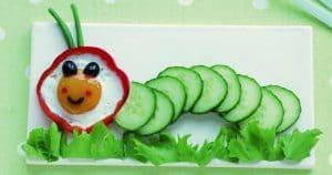 Fun Food mit Gemüse und Obst: Kreative Rezepte für kindgerechte Snacks