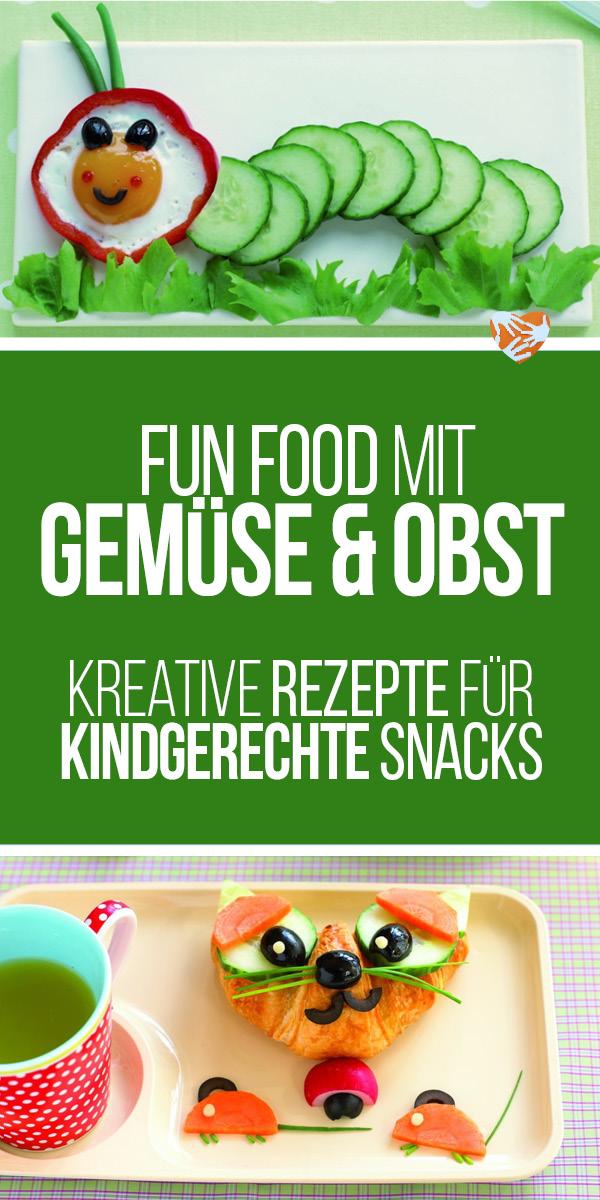 Gemüse klingt wie eine Drohung in den Ohren eurer Kinder? Alles Gesunde ist per se höchst verdächtig und wird daher nur mittels größtmöglicher Umwege umgangen? Diese kreativen Snackideen könnten helfen.