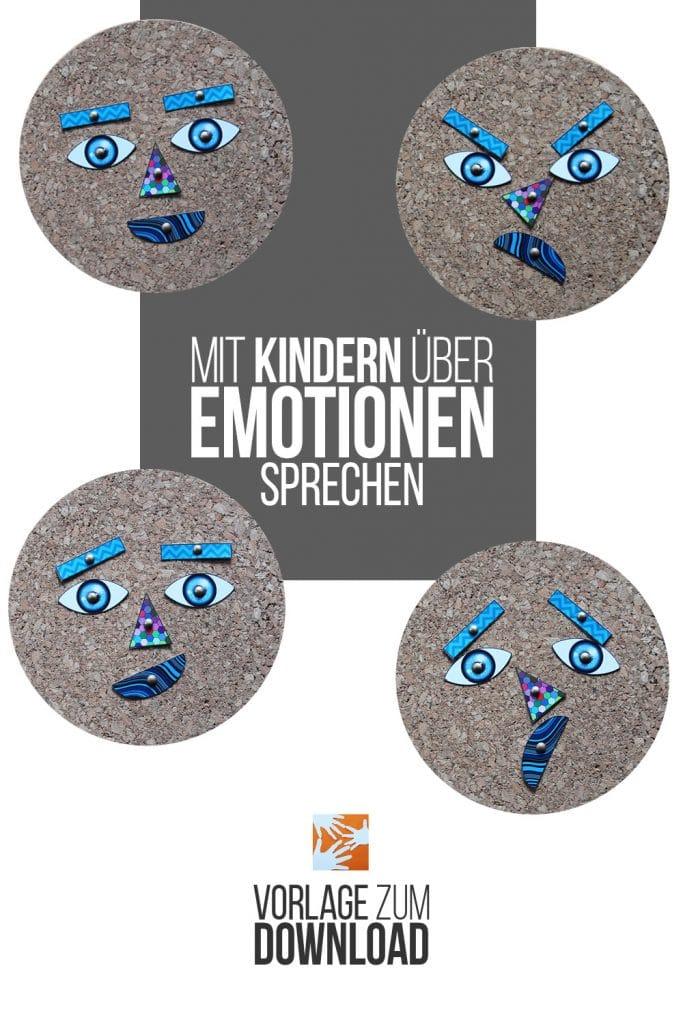 Mit Kindern über Emotionen sprechen