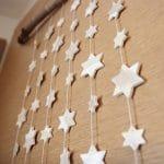 Wanddeko für Weihnachten aus Fimo