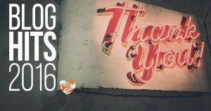 Jahresrückblick: Die beliebtesten Blogbeiträge aus dem Jahr 2016