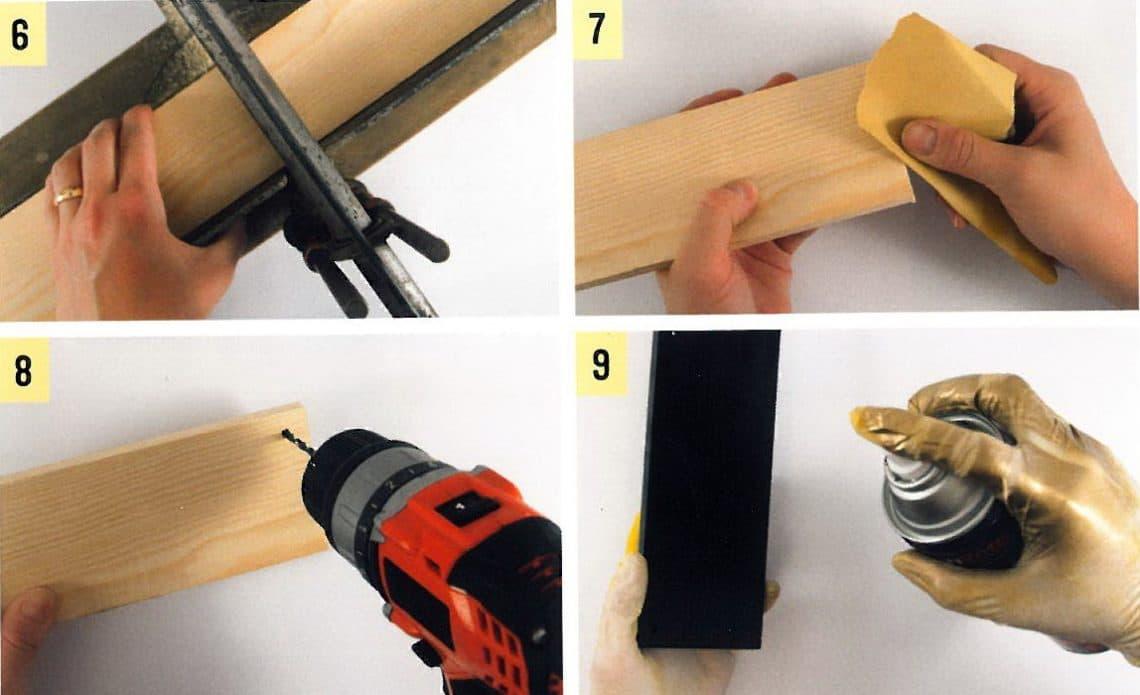 last minute geschenk für männer: diy lego-schlüsselbrett | muttis