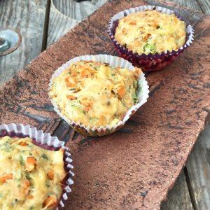 Kindertaugliche Gemüserezepte: Pikante Muffins von Gänseblümchen-Sonnenschein