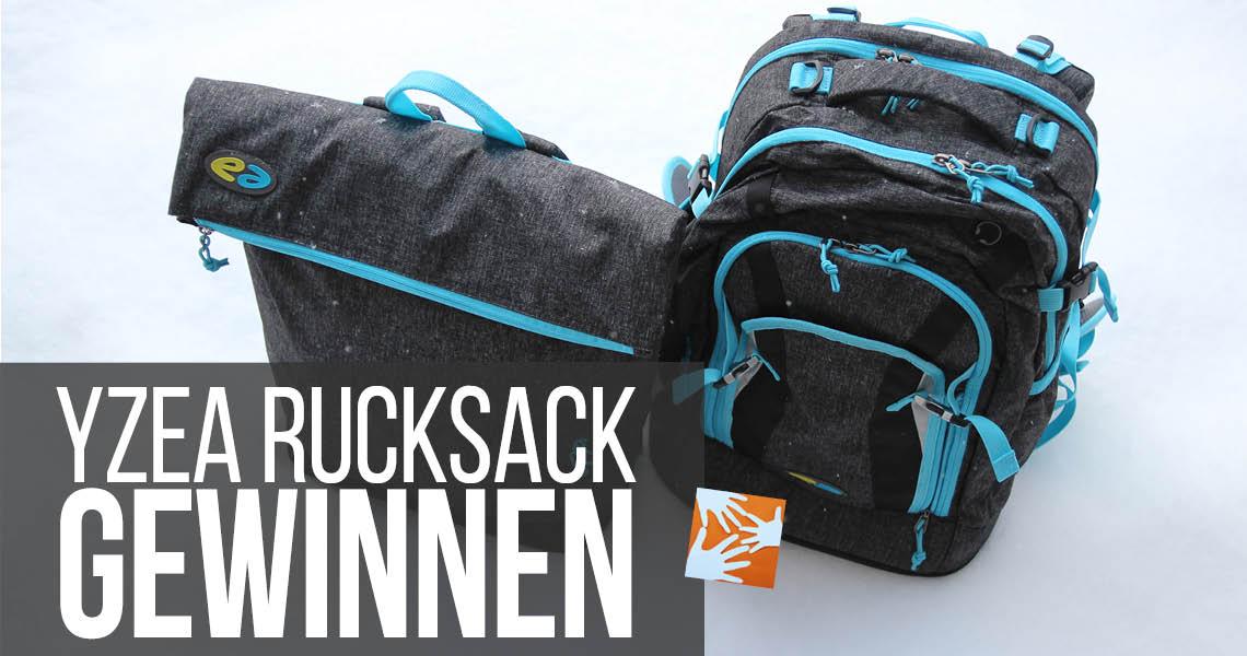 Schulrucksack oder Freizeit: Yzea Rucksack gewinnen!