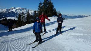 Skifahren mit Kind: Dachstein West