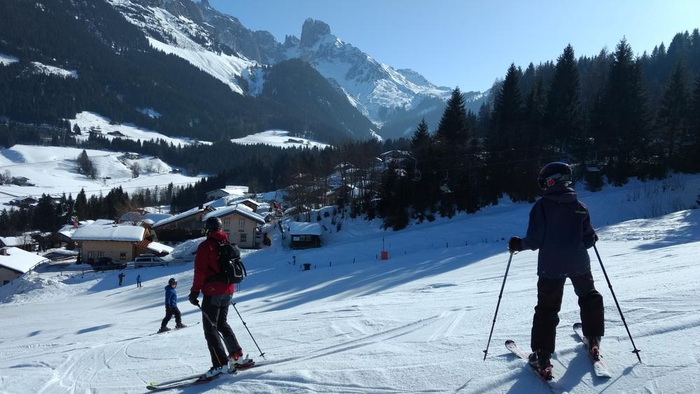 Skifahren mit Kind: Dachstein West - Tipp Familienskitag