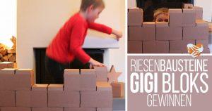Mutti & Söhne im Riesen-Baustein-Fieber: GIGI Bloks gewinnen