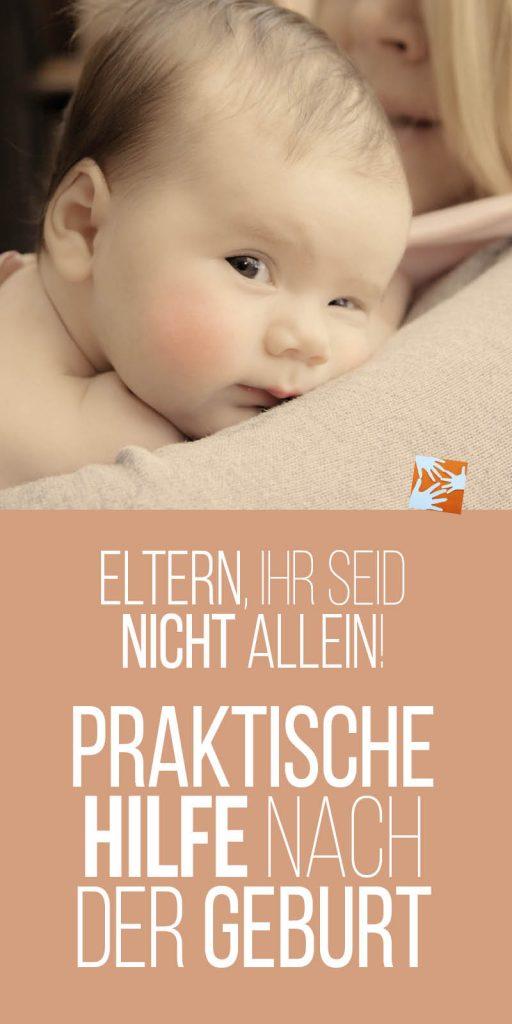 Eltern, ihr seid nicht allein! Praktische Hilfe nach der Geburt | frischgebackene Eltern, frischgebackene Mutter | wellcome, Caritas, Frühe Hilfen, Birdie