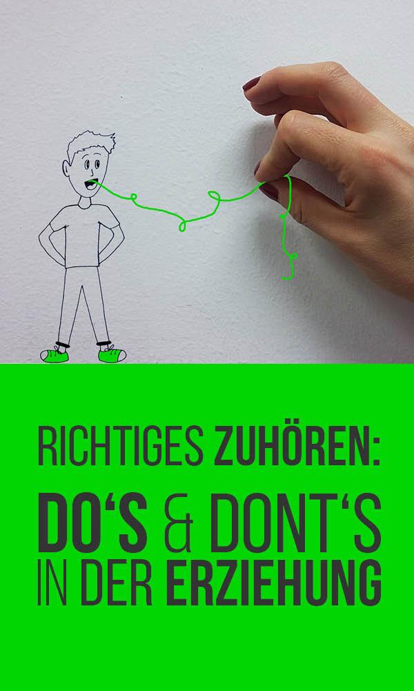 Richtiges Zuhören: Do's & Dont's in der Erziehung | Kommunikation mit Kind