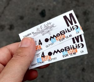 Paris mit Kind | Metro-Tickets