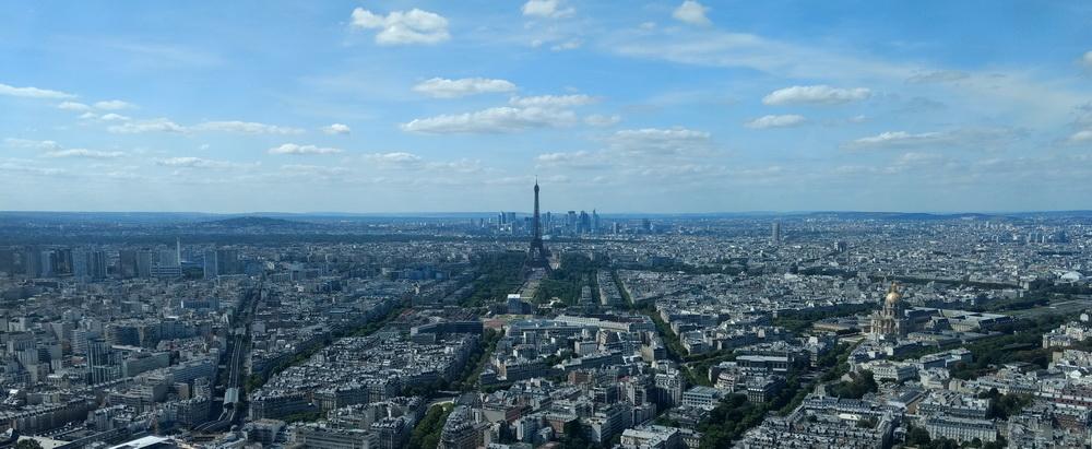 Paris mit Kindern | Panorama vom Tour Montparnasse