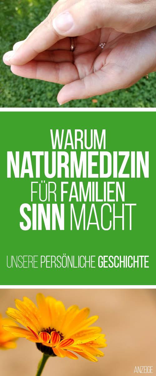 Warum Naturmedizin für Familien Sinn macht. Und warum Alternativmedizin der falsche Ausdruck ist.