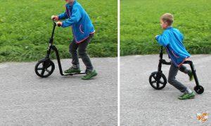 Scooter oder Laufrad? Beides! ScooterBike gewinnen