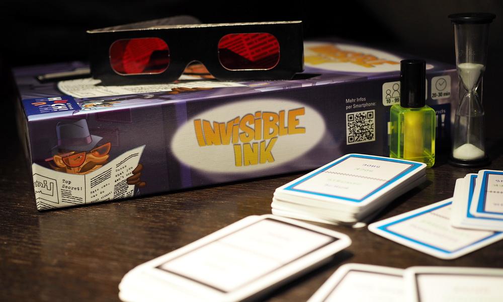 Geschenkidee: Familienspiel Invisible Ink gewinnen