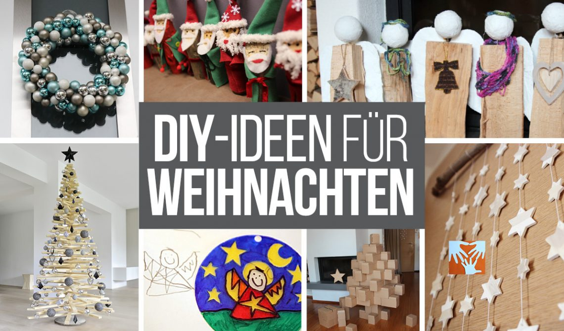 basteln mit kindern im advent kreative diy ideen f r. Black Bedroom Furniture Sets. Home Design Ideas